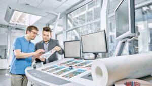 las soluciones de cinta tesa para la industria grafica