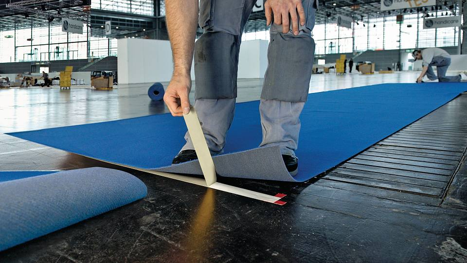 cintas de quita y pon para colocar suelos